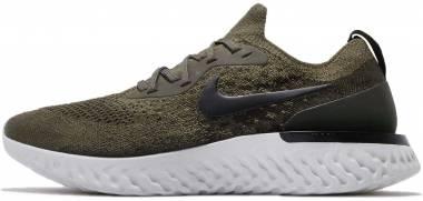 Nike Epic React Flyknit Khaki Men