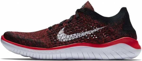 Nike Free RN Flyknit 2018 - Bright Crimson/White/Black (942838602)