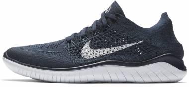 Nike Free RN Flyknit 2018 - Navy/White (942838400)