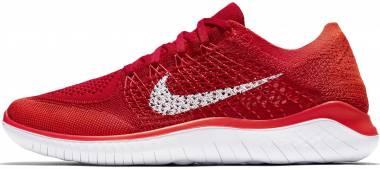 Nike Free RN Flyknit 2018 University Red/White Men