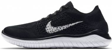 Nike Free RN Flyknit 2018 black/white Men