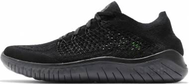 83fe2d6f68685 Nike Free RN Flyknit 2018 Black Anthracite Men