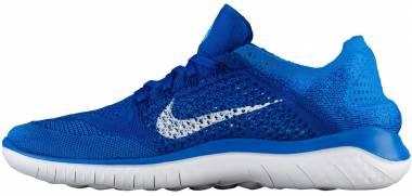 Nike Free RN Flyknit 2018 - Blue (942838401)