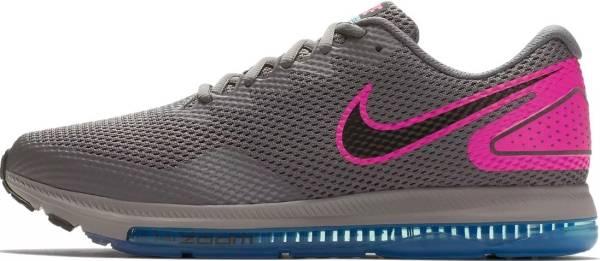 Nike Zoom All Out Low 2 - Gunsmoke/Black/Pink Blast (AJ0035009)