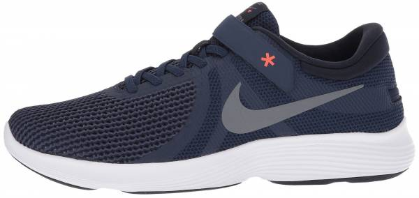 Nike Revolution 4 FlyEase Midnight Navy Cool Grey-dark Obsidian 0dff3eccc