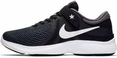 Nike Revolution 4 FlyEase - Black/White-Anthracite (AA1732001)