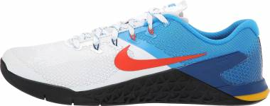 Nike Metcon 4 - White/Team Orange-blue Hero-gym Blue (AH7453184)