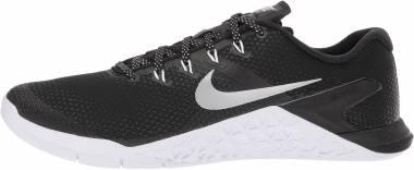 Nike Metcon 4 - Black/ Metallic Silver