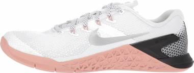 Nike Metcon 4 - white/metallic silver/pink