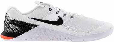 Nike Metcon 4 - White/Black/Total Crimson