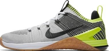 Nike Metcon DSX Flyknit 2 - White Black Volt Gum Med Brown