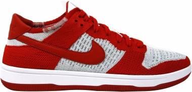 Nike Dunk Low Flyknit Red Men