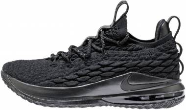 sports shoes 8a6db 40f1a Nike LeBron 15 Low Black Thunder Grey Men