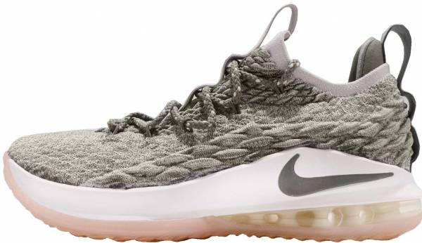 low priced ebcb9 87296 Nike LeBron 15 Low Light Bone   Dark Stucco-sail