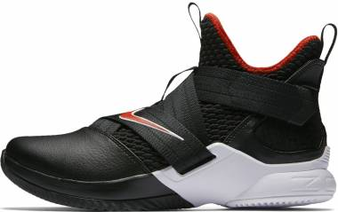 huge selection of f1b3c 02a3c Nike LeBron Soldier 12 Black Men