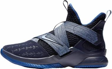 Nike LeBron Soldier 12 - Blackened Blue Work Blue Gym Blue