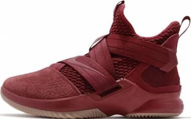 Nike LeBron Soldier 12 Multicolore (Team Red/Team Red/Gum Light Brown 600) Men