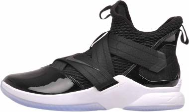 Nike LeBron Soldier 12 - Black/Black-white