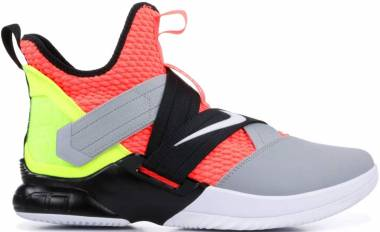 Nike LeBron Soldier 12 - Hot Lava/White-black (AO4054800)