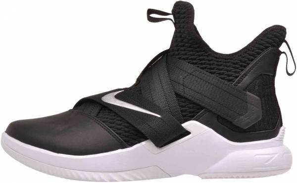 Nike LeBron Soldier 12 Black/Metallic Silver/White