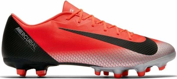Nike Mercurial Vapor XII Academy CR7 Multi-ground - Bright Crimson/Chrome/Dark Grey/Black (AJ3721600)