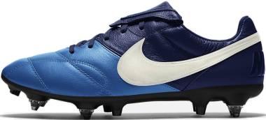 Nike Premier II Anti-Clog Traction SG-Pro - Blå (921397414)