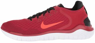d708f3492634 Nike Free RN 2018 Gym Red Bright Crimson Black Team Red White