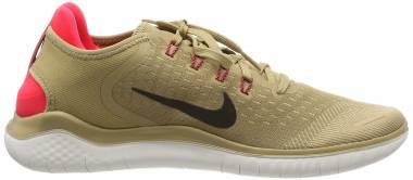Nike Free RN 2018 - Multicolour Parachute Beige Black Red Orbit 201 (942836201)