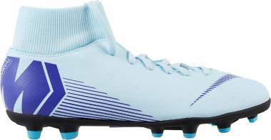 Nike Mercurial Superfly VI Club Multi-ground - Glacier Blue/Persian Violet (AH7363454)