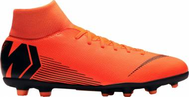 Nike Mercurial Superfly VI Club Multi-ground - Black, Orange