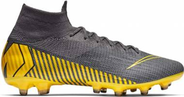 Nike Mercurial Superfly 360 Elite AG-PRO - thunder grey/black/dark grey/opti yellow (AH7377077)
