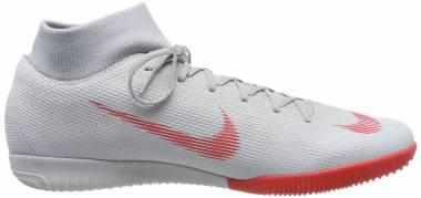 Nike MercurialX Superfly VI Academy Indoor - Grey (AH7369060)
