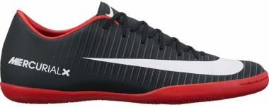 Nike MercurialX Victory VI Indoor - Black Black White Dk Grey Univ Red (831966002)