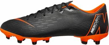 Nike Mercurial Vapor XII Academy Multi-ground Black (Black/Total Orange-w 081) Men