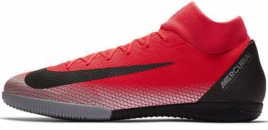 Nike MercurialX Superfly VI Academy CR7 Indoor - Red / Silver (AJ3567600)