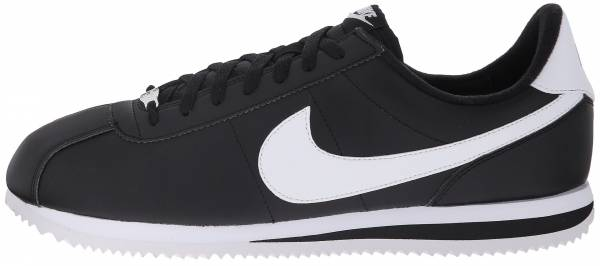 get cheap 112b5 99f3e Nike Cortez Basic Leather Black White