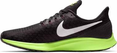 Nike Air Zoom Pegasus 35 - Multicolore (Black/White/Burgundy Ash/Lime Blast 016)