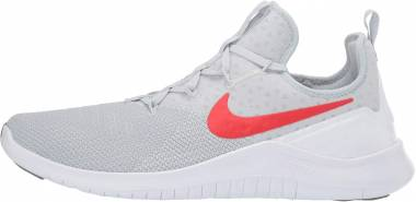 Nike Free TR 8 - Pure Platinum/Habanero Red-white
