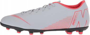 Nike Mercurial Vapor XII Club Multi-ground - Multicolour Wolf Grey Lt Crimson Black 060 (AH7378060)