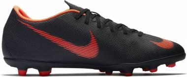 Nike Mercurial Vapor XII Club Multi-ground - Black/Total Orange-white