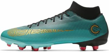Nike Mercurial Superfly VI Academy CR7 Multi-ground - Turquoise Clear Jade Mtlc Vivi 390 (AJ3541390)