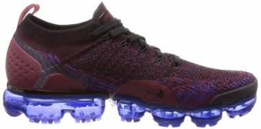 Nike Air VaporMax Flyknit 2 Black/Black-team Red Men