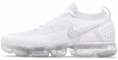 Nike Air VaporMax Flyknit 2 White, White-pure Platinum Men