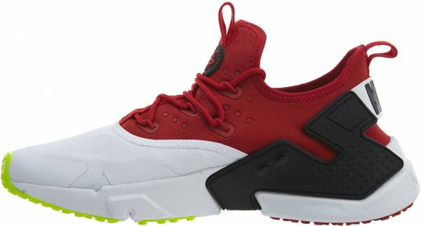 newest 1b4fd 2f12f Nike Air Huarache Drift Gym Red White-black-volt