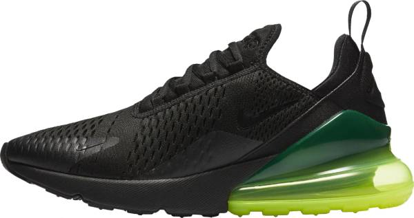 meet a8bc0 cea65 Nike Air Max 270 Black, Black-volt