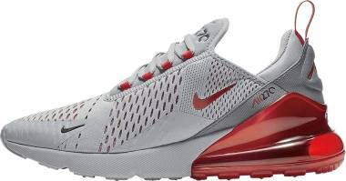 Nike Air Max 270 - Particle Grey/University Red-white (CW7048001)