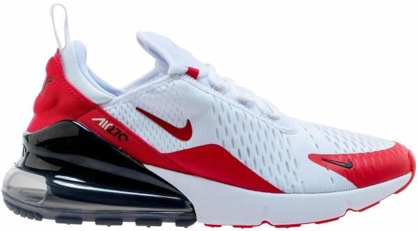 nike air max trainer 1 nero bianca red blaze