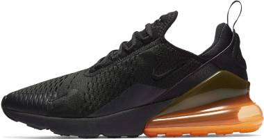 Nike Air Max 270 black, black-total orange Men
