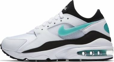 Nike Air Max 93 - White Sport Turq Black