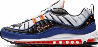 Nike Air Max 98 - White Deep Royal Blue Total Orange Black (CD1536100)